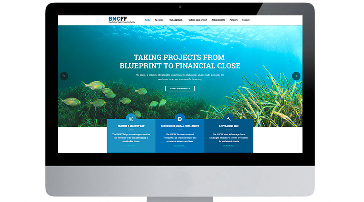 Home screen picture of Blue Natural Capital Financing Facilities