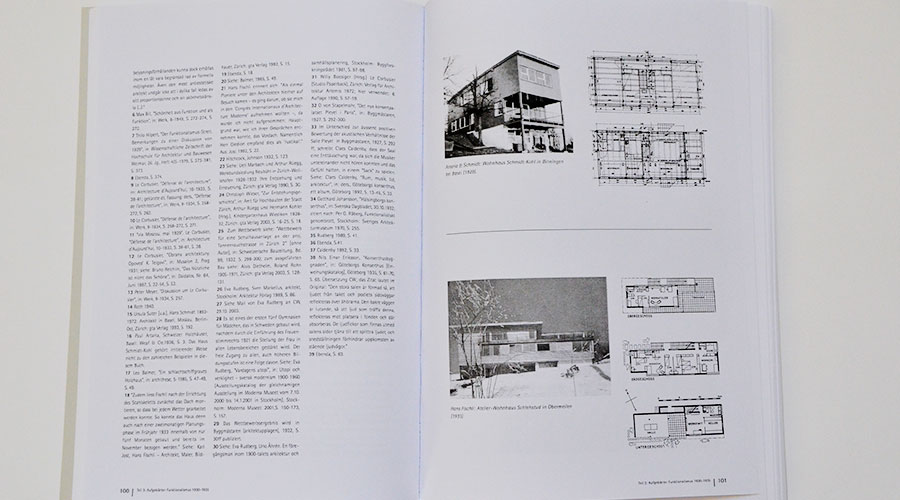 Layout Innenseite, Dissertation zu Architektur