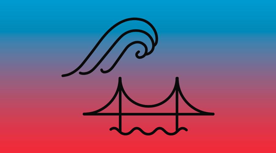 Icon wirksamer Küstenschutz