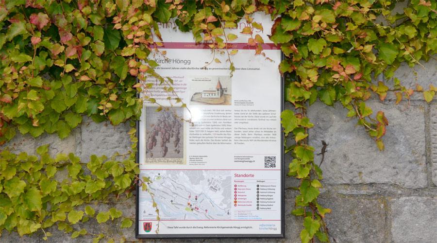 Weinweg Höngg Tafel 7