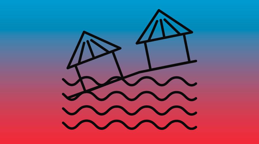 Icon Schutz vor Flut und Sturm